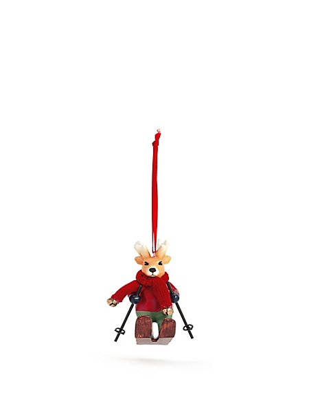 Novelty Reindeer Bauble