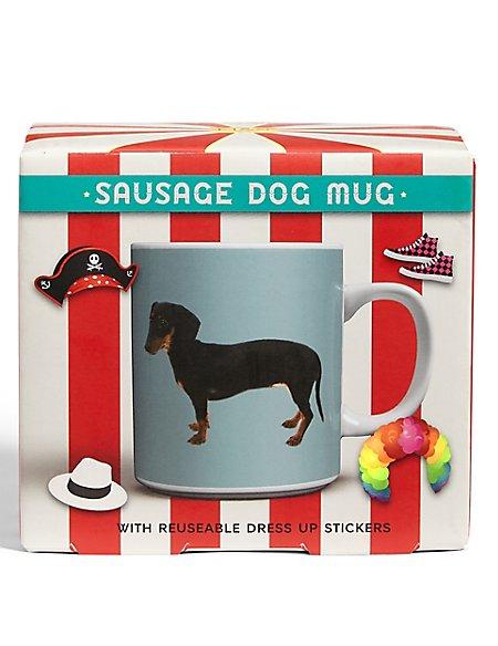 Sausage Dog Dress Up Mug