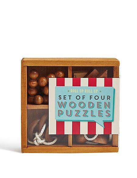 Wooden Puzzle Quest Set 4