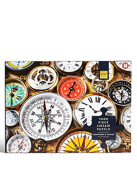 Compasses and Clocks Puzzle