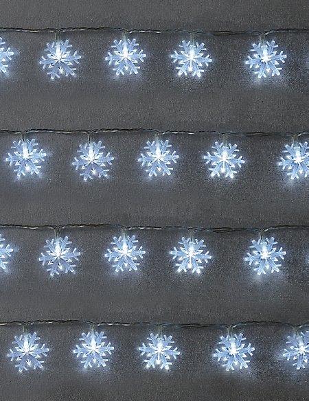 80 Snowflake Outdoor Lights