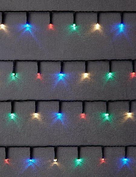 100 Multi Outdoor Lights