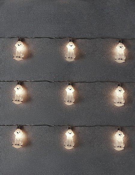 Husky Dog Line Lights