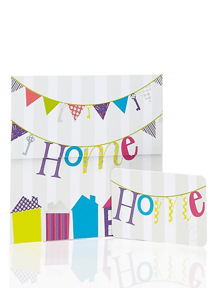 Home Bunting Gift Card