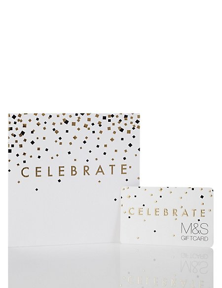 Gold Celebrate Gift Card