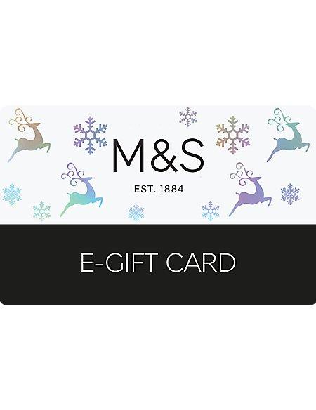 Reindeer E-Gift Card