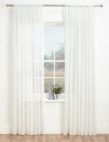 Sheer Voile Panel