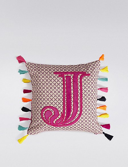 Alphabet Cushion J