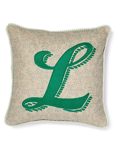 Alphabet Cushion L