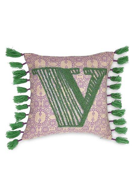 Alphabet Cushion V