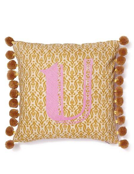 Alphabet U Cushion