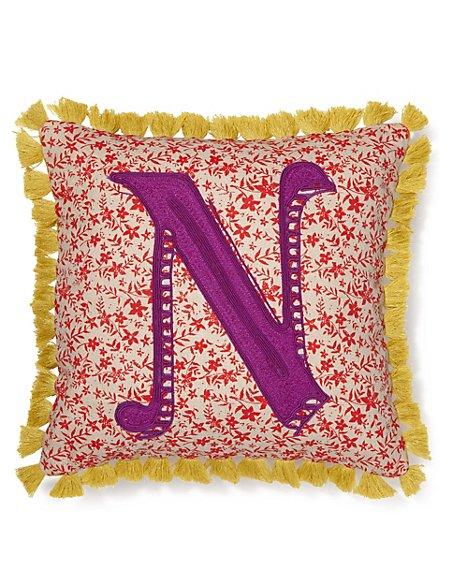 Alphabet N Cushion