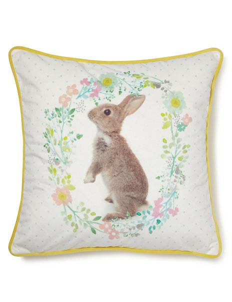 Rosie Rabbit Cushion