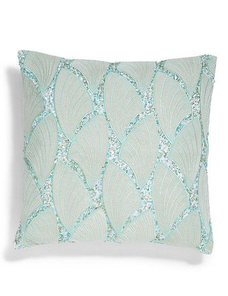 Deco Embellished Cushion