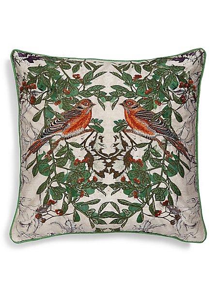 Singing Partridges Cushion