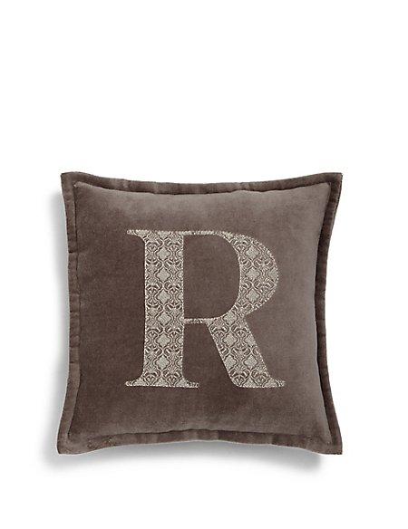 Letter R Cushion