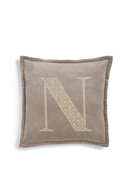 Letter N Cushion