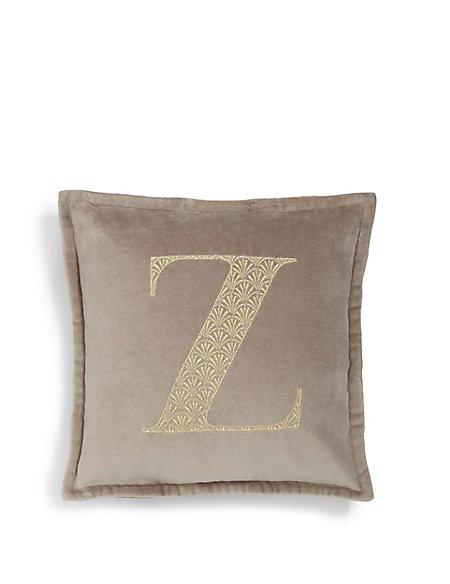 Letter Z Cushion