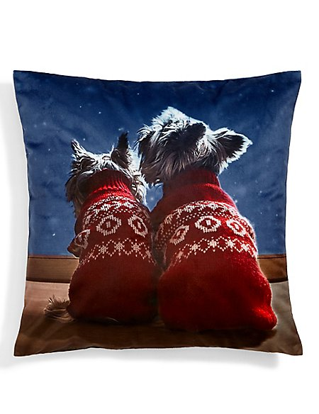 Two Westie Cushion
