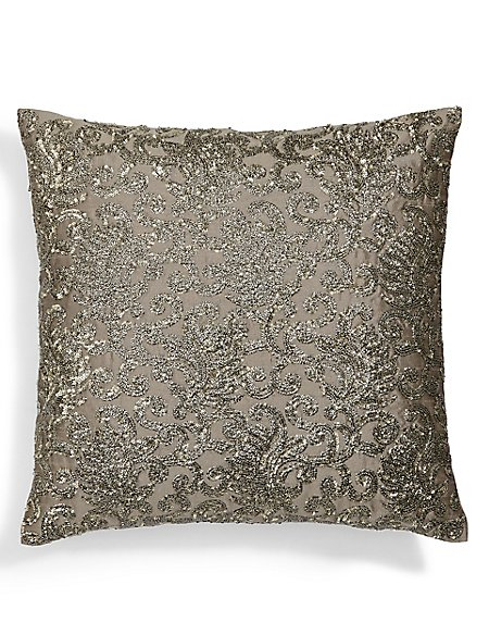Gold Sparkle Cushion