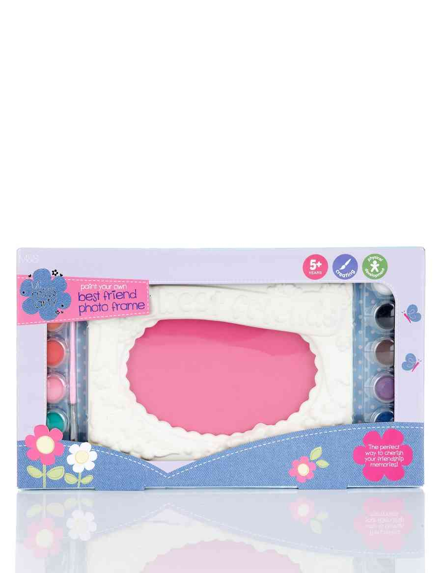 Lil Miss Arty Paint Your Own Best Friend Photo Frame Ms