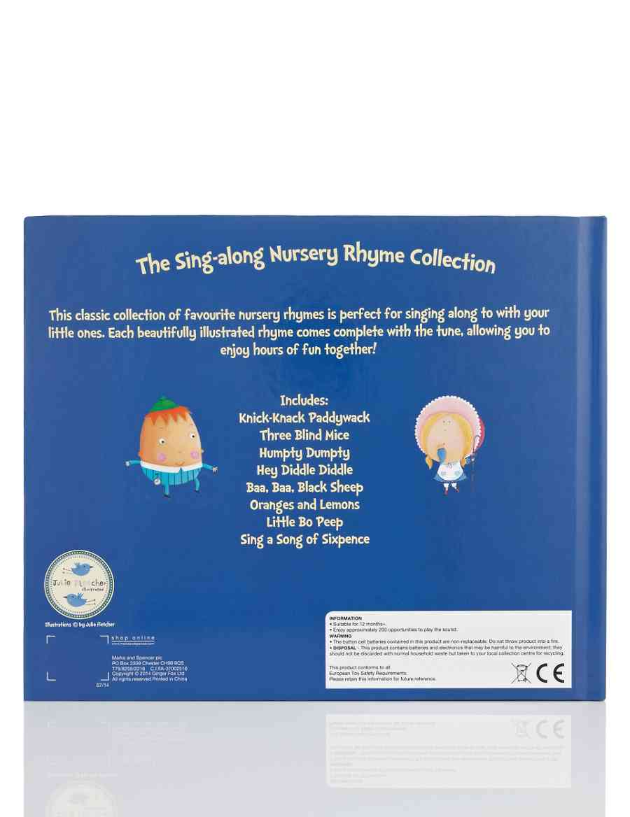 The Sing Along Nursery Rhyme Collection