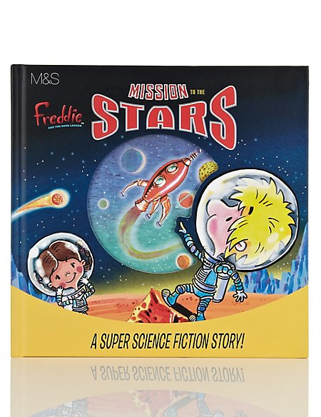 Freddie And The Book Ladder™ Mission to the Stars Book