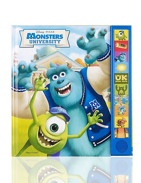 Monsters University Sound Book