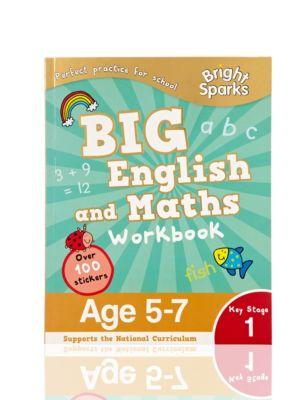 Bright Sparks Key Stage 1 Big English & Maths Workbook | M&S