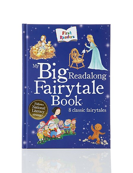 My Big Read-Along Fairytale Story Book