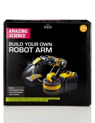 Amazing Science Build Your Own Robot Arm   M&S