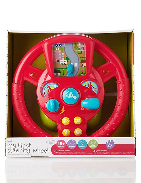My First Steering Wheel Toy