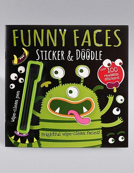 Funny Faces Alien Book