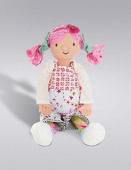 Emily Button™ Medium Rag Doll Soft Toy (45cm)