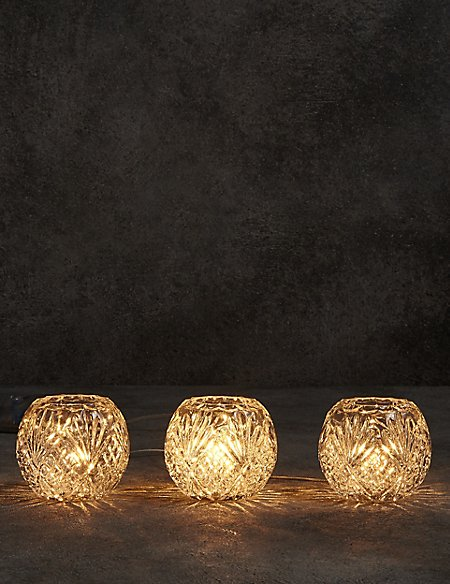 Martha Cut Glass Bowls Table Lamp
