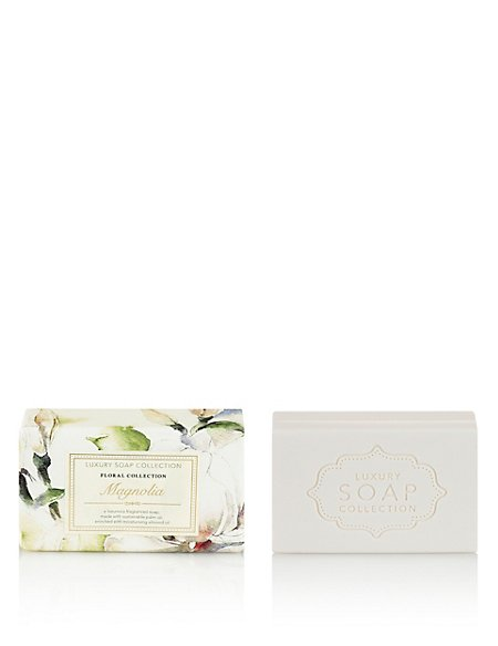 Magnolia Luxury Gift Soap 200g