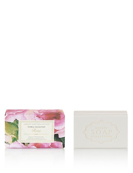 Rose Luxury Gift Soap 200g