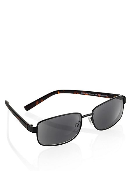 Mock Tortoiseshell Tinted Reading Glasses