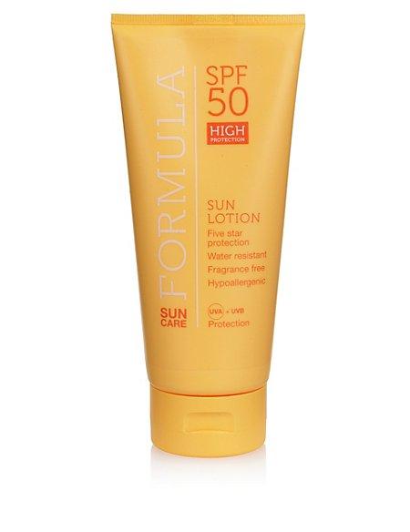 High Protection Sun Lotion SPF50 200ml