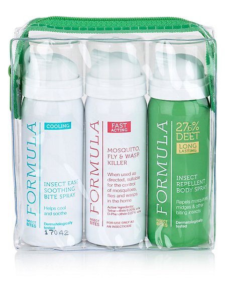 Insect Repellent Travel Pack 150ml