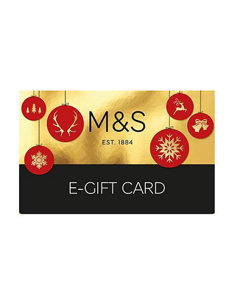 Christmas Baubles E-Gift Card