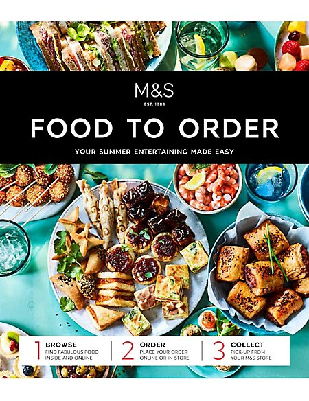 Free Summer 2018 Food to Order Catalogue