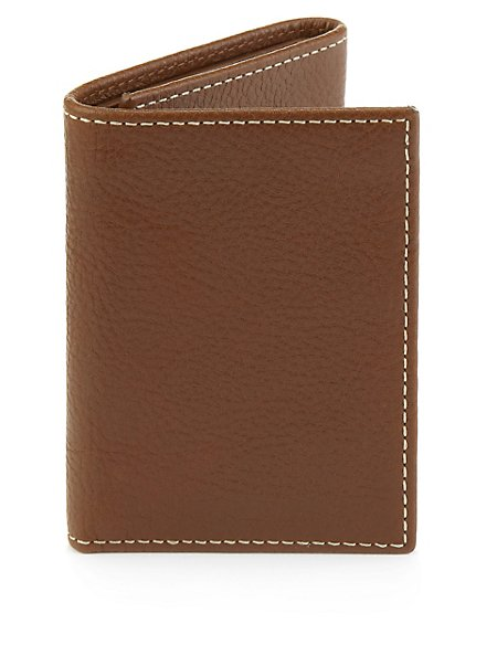 Leather Tri-Fold Urban Wallet