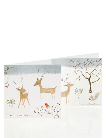20 winter animal charity christmas cards - Animal Charity Christmas Cards