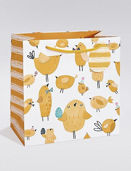 Chicks Medium Easter Gift Bag