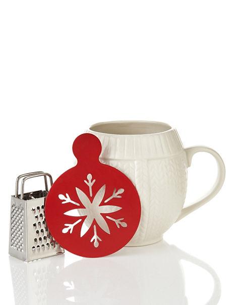 Cosy Knitted Mug Set