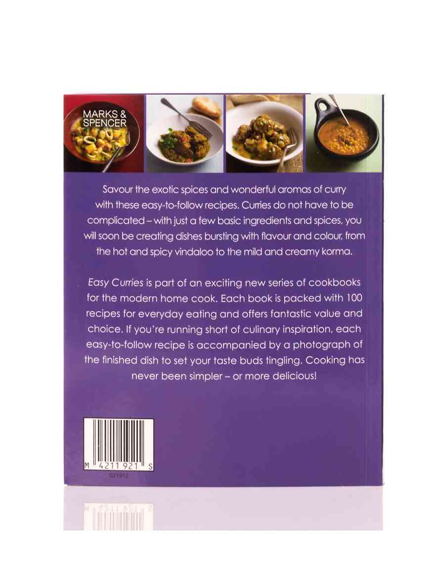 easy curries recipe book m s