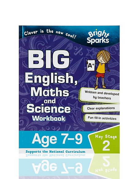 Bright Sparks Key Stage 2 Big English, Maths & Science Workbook