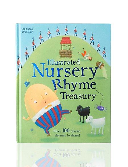 Illustrated Nursery Rhymes Book