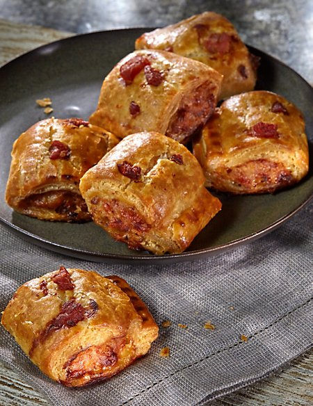 Handcrafted Sausage Rolls (12 Pieces)